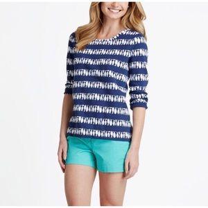 Vineyard Vines Fish Stripe Terry Sweatshirt